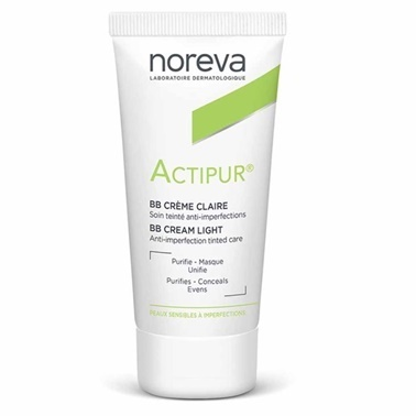 Noreva Actipur BB Cream Light 30ml Renksiz